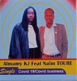 """Covid-19/Covid business"" : Un single de Almamy kJ en feat avec l'activiste Naïm Touré"